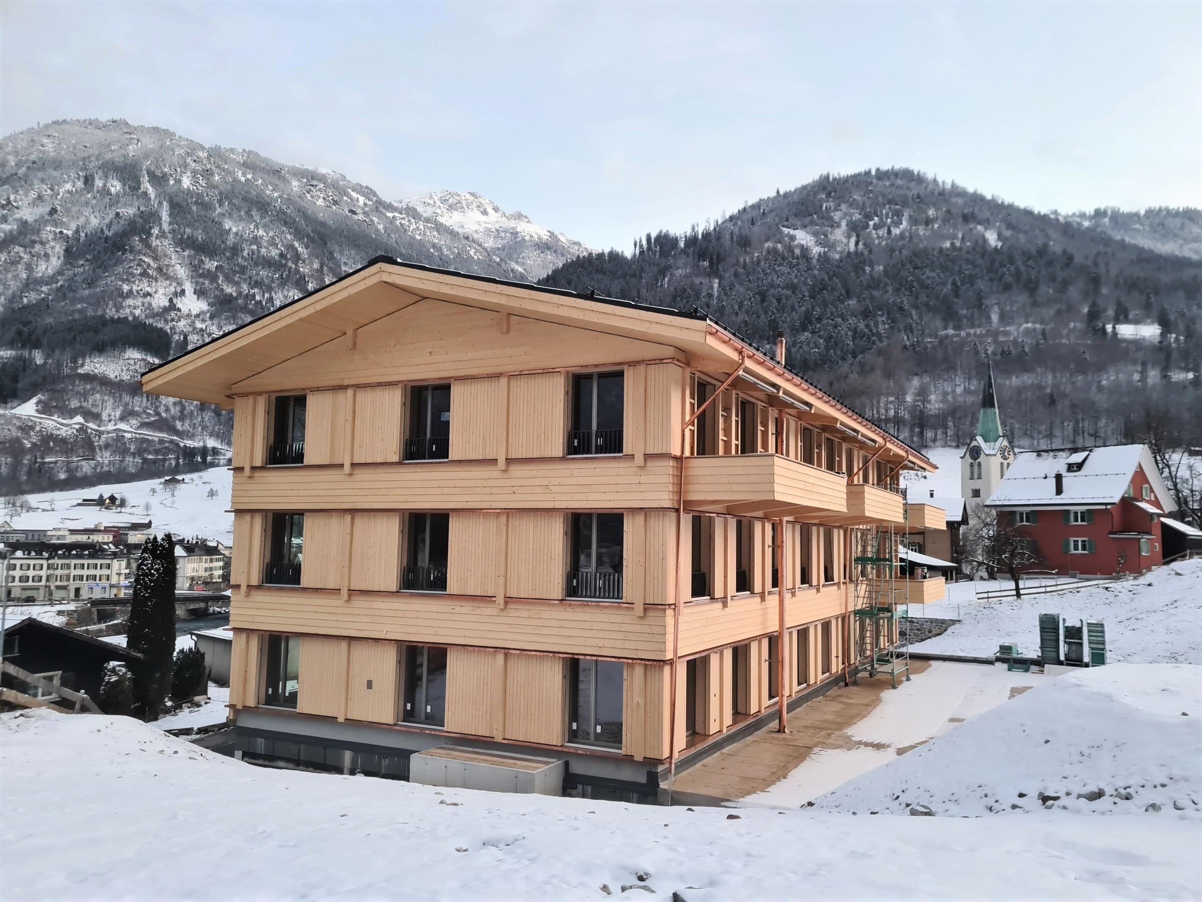 Neubau Glarner Krankenversicherung